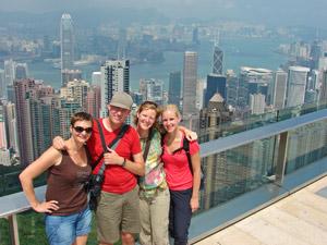Hong Kong Reise: Ausblick vom Victoria Peak