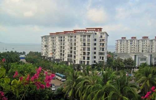 das Hotel in Sanya auf der Insel Hainan