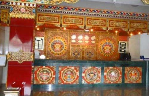 tibetische Lobby Langmusi