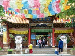 ein tibetisches Kloster bei Lijiang