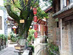 die verwinkelten Gassen von Lijiang
