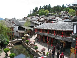 Die Lampions von Lijiang