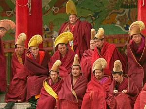 China entdecken: Mönche in Xiahe