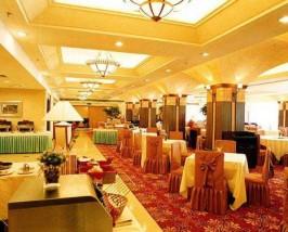 Ein typisch chinesisches Hotelrestaurant