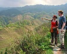 Longsheng Reisterrassen bei Dazhai