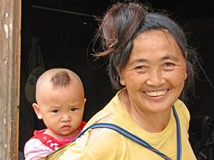 Longsheng Reisterrassen: Freundliche Einheimische in Dazhai