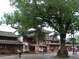 Dorfplatz in Shaxi