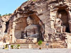 Die Yungang Grotten - Bildrecht bei Shutterstock
