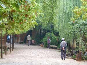 Steingassen in Shaxi
