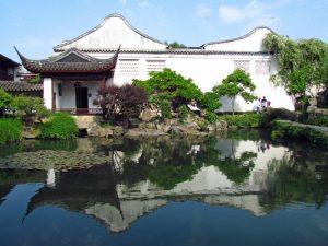 Der Garten des Meisters der Netze in Suzhou