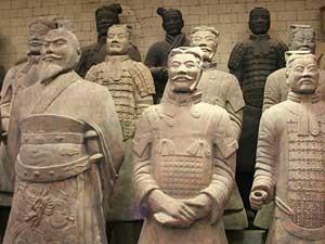 Soldaten der Terrakotta Armee