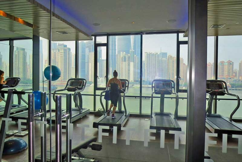 Fitness Center mit Ausblick