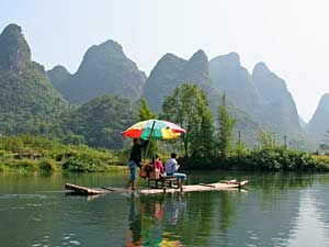 Yangshuo Karstberge