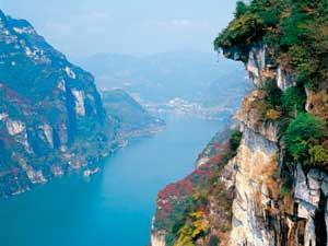 Beeindruckende Landschaften in den Drei Schluchten