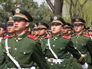 Sicherheit-China: Militär in Beijing