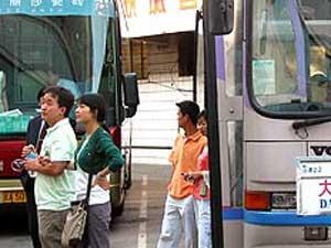 mit dem Bus während Ihrer China Touren fahren