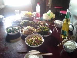 Mittagessen in Chengdu