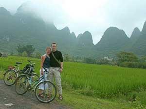 Reiseberichte China: Mit dem Fahrrad unterwegs in Yangshuo