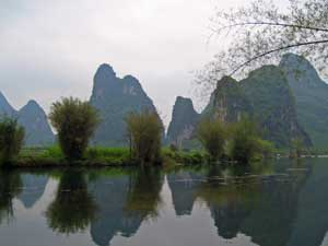 Karstberge am Yulong River