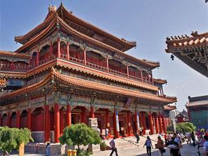 Reiseberichte China: farbenfroher Lamatempel