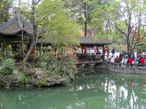Chinesischer Garten in Chengdu