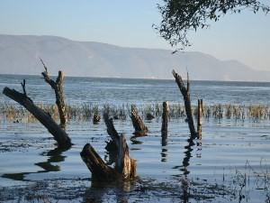 Erhai See in der Nähe von Dali