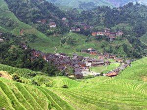Longsheng Reisterrassen: Stimmungsvolle Reisterrassen