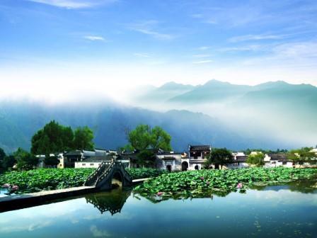 China Sehenswürdigkeiten: Ming Dörfer bei Huangshan