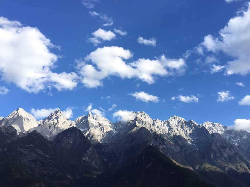 Südchina Ausflüge: Drachenberg bei Lijiang