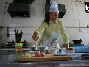 Kochkurs in Yangshuo