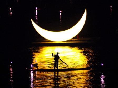 Südchina Ausflüge: Yangshuo Lichtershow