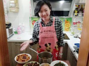 Mittagessen bei einer Hutong Familie