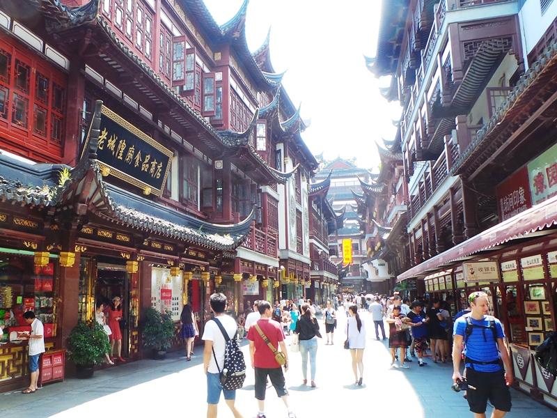 China Sehenswürdigkeiten: Shanghai