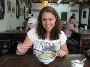 Reisespezialistin Madlen in Suzhou