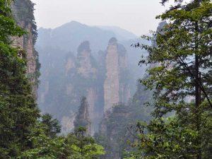 Aussicht vom Tianmen Berg
