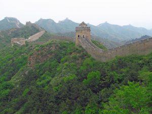 Der Abschnitt Jinshanling bei der großen Mauer