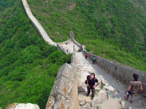 Wanderung über die große Mauer