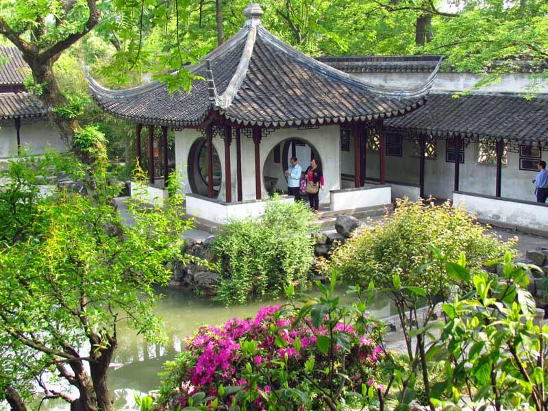 Chinesischer Garten in Suzhou