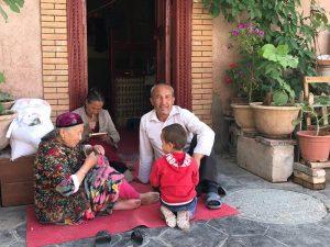 Bewohner von Kashgar