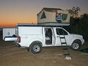 Zuid-Afrika kampeerreizen - 4x4