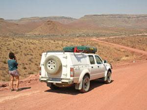 Onderweg naar Botswana