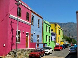 Straatjes Kaapstad Zuid-Afrika