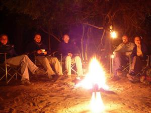 Kampvuur tijdens je Swaziland reis