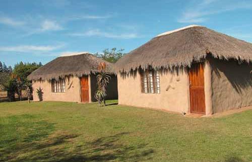 Rondavels in Addo Park - Zuid-Afrika reizen