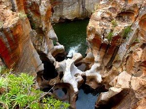 Bourkes Luck Potholes - rondreizen Zuid-Afrika