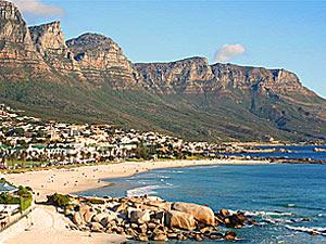 Zuid-Afrika stranden Camps Bay Kaapstad