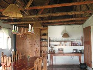 Eetkamer in je cottage - Drakensbergen