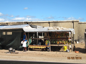 Markt kraampjes - Zuid-Afrika