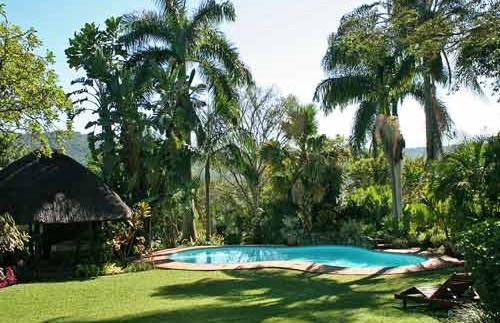 Zwembad tijdens je reis Zuid-Afrika