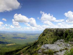 Uitzicht bij Kaapsehoop